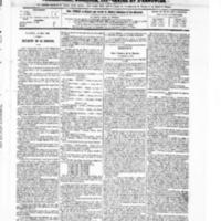 Le Journal de l'arrondissement de Valognes, numéro du 12 juin 1868