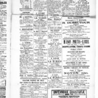 Le Journal de l'arrondissement de Valognes, supplément au numéro du 05 juin 1885
