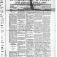 Le Journal de l'arrondissement de Valognes, numéro du 30 mai 1890