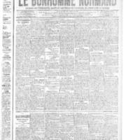 Le Bonhomme normand, numéro du 07 août 1914