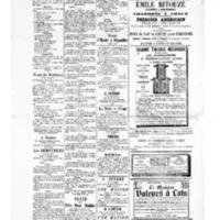 Le Journal de l'arrondissement de Valognes, supplément au numéro du 16 septembre 1881