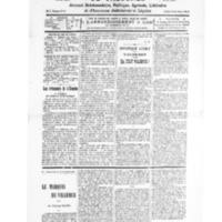 Le Journal de l'arrondissement de Valognes, numéro du 17 mai 1930