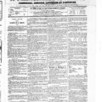 Le Journal de l'arrondissement de Valognes, numéro du 05 juin 1868