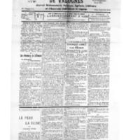 Le Journal de l'arrondissement de Valognes, numéro du 16 juin 1928