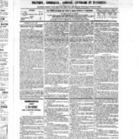 Le Journal de l'arrondissement de Valognes, numéro du 11 juin 1875