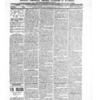 Le Journal de l'arrondissement de Valognes, numéro du 16 janvier 1903