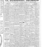 Le Bonhomme normand, numéro du 11 septembre 1914