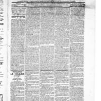 Le Journal de l'arrondissement de Valognes, numéro du 15 mai 1896