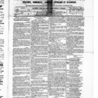 Le Journal de l'arrondissement de Valognes, numéro du 10 octobre 1879