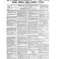 Le Journal de l'arrondissement de Valognes, numéro du 24 juin 1881
