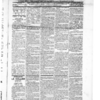 Le Journal de l'arrondisssmeent de Valognes, numéro du 01 mai 1896