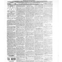 Le Journal de l'arrondissement de Valognes, numéro du 30 octobre 1903