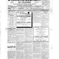 Le Journal de l'arrondissement de Valognes, numéro du 16 mars 1935