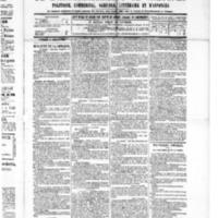 Le Journal de l'arrondissement de Valognes, numéro du 29 octobre 1886