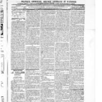 Le Journal de l'arrondissement de Valognes, numéro du 17 janvier 1896