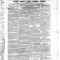 Le Journal de l'arrondissement de Valognes, numéro du 09 mai 1879