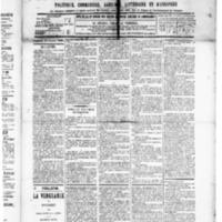 Le Journal de l'arrondissement de Valognes, numéro du 24 octobre 1890