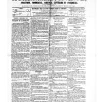 Le Journal de l'arrondissement de Valognes, numéro du 16 septembre 1881