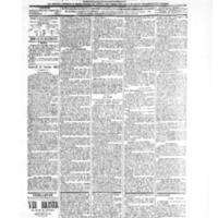 Le Journal de l'arrondissement de Valognes, numéro du 16 octobre 1903