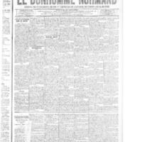 Le Bonhomme normand, numéro du 17 juillet 1914