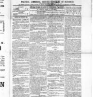 Le Journal de l'arrondissement de Valognes, numéro du 24 décembre 1886