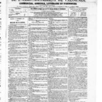 Le Journal de l'arrondissement de Valognes, numéro du 21 septembre 1867
