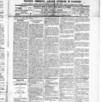 Le Journal de l'arrondissement de Valognes, numéro du 08 novembre 1889