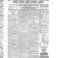 Le Journal de l'arrondissement de Valognes, numéro du 25 juin 1875