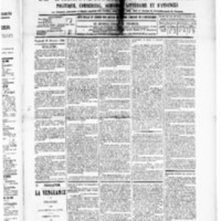 Le Journal de l'arrondissement de Valognes, numéro du 31 octobre 1890