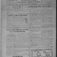 Le Coup de canon, numéro du 01 janvier 1918