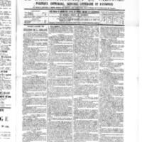 Le Journal de l'arrondissement de Valognes, numéro du 08 octobre 1886