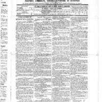 Le Journal de l'arrondissement de Valognes, numéro du 24 septembre 1886