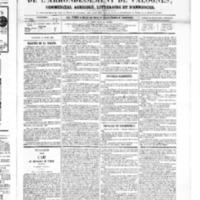 Le Journal de l'arrondissement de Valognes, numéro du 14 avril 1865