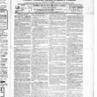 Le Journal de l'arrondissement de Valognes, numéro du 24 avril 1885