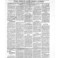 Le Journal de l'arrondissement de Valognes, numéro du 18 janvier 1907