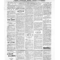 Le Journal de l'arrondissement de Valognes, numéro du 24 décembre 1909