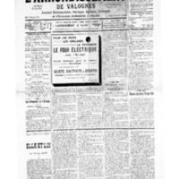 Le Journal de l'arrondissement de Valognes, numéro du 07 septembre 1935