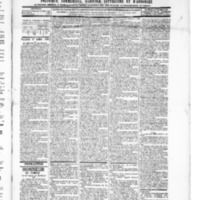 Le Journal de l'arrondissement de Valognes, numéro du 27 juillet 1894