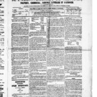 Le Journal de l'arrondissement de Valognes, numéro du 14 janvier 1881