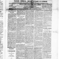 Le Journal de l'arrondissement de Valognes, numéro du 04 octobre 1889