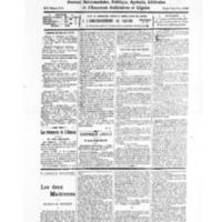 Le Journal de l'arrondissement de Valognes, numéro du 20 août 1932