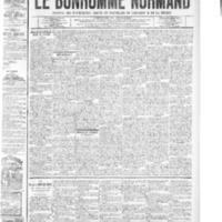 Le Bonhomme normand, numéro du 09 octobre 1908