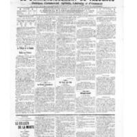 Le Journal de l'arrondissement de Valognes, numéro du 22 octobre 1909