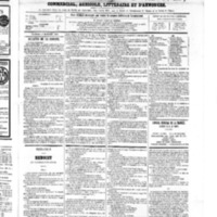 Le Journal de l'arrondissement de Valognes, numéro du 08 décembre 1865