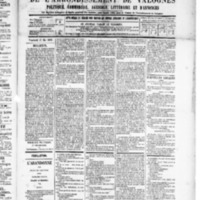 Le Journal de l'arrondissement de Valognes, numéro du 17 mai 1889