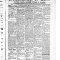 Le Journal de l'arrondissement de Valognes, numéro du 27 janvier 1905