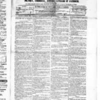 Le Journal de l'arrondissement de Valognes, numéro du 06 février 1885