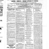 Le Journal de l'arrondissement de Valognes, numéro du 31 décembre 1880