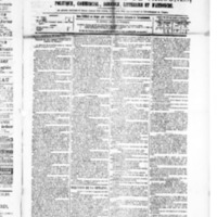 Le Journal de l'arrondissement de Valognes, numéro du 10 avril 1885