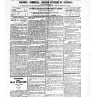Le Journal de l'arrondissement de Valognes, numéro du 07 octobre 1881